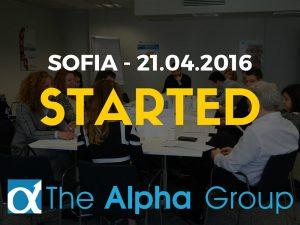 The Alpha Group Sofia